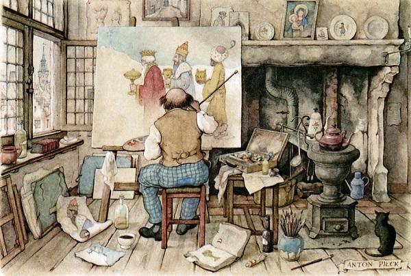 профессия художник