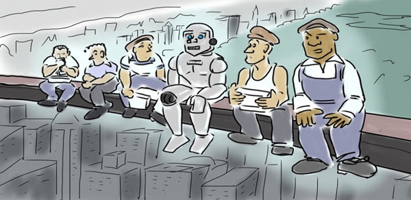 роботы заменят людей в офисах и везде