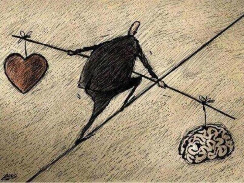 Ошибка номер один: выбирать головой то, что нужно сердцу
