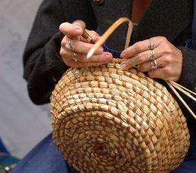 Плетение из орешника